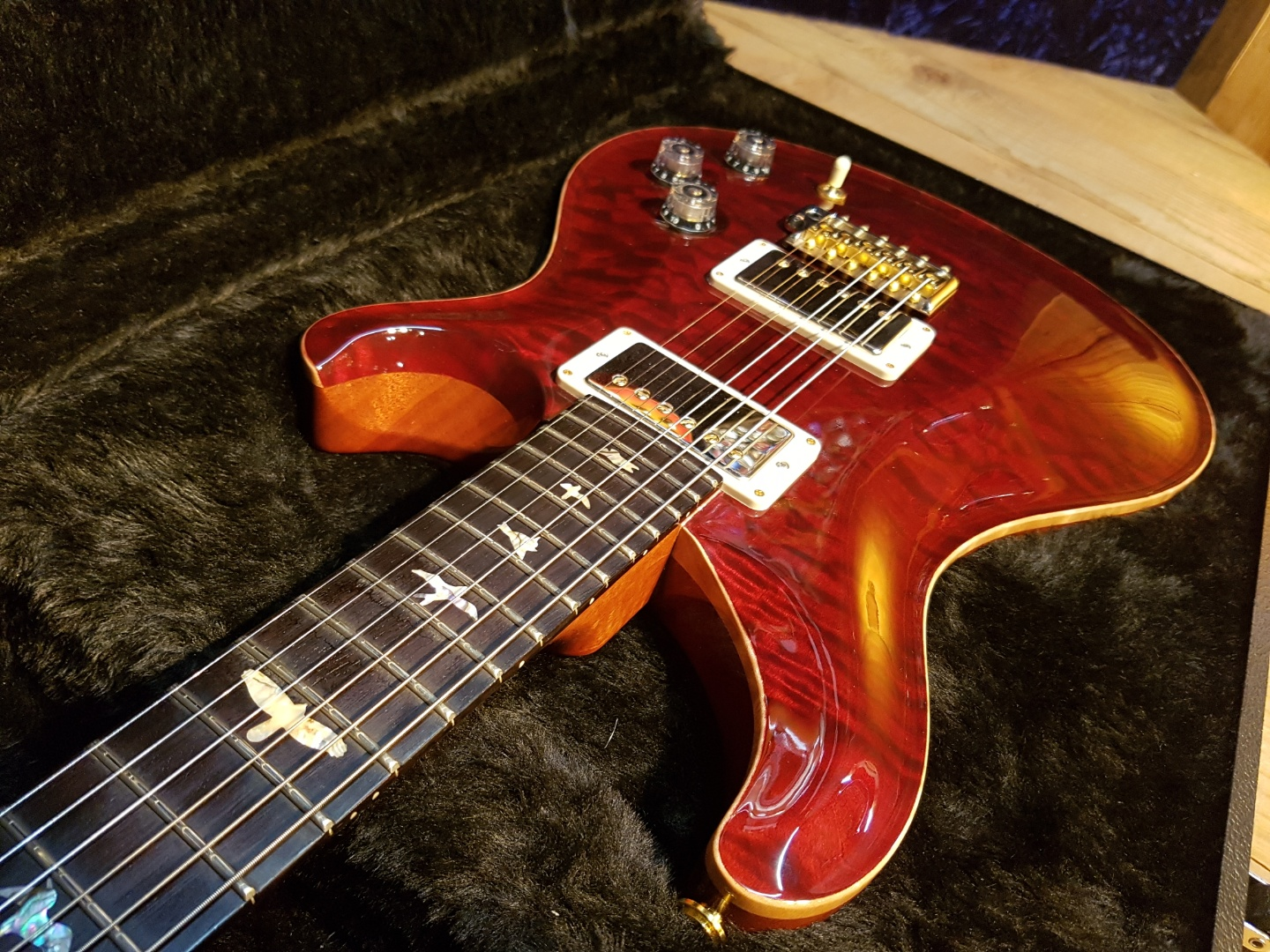 2016 PRS Wood Library DGT