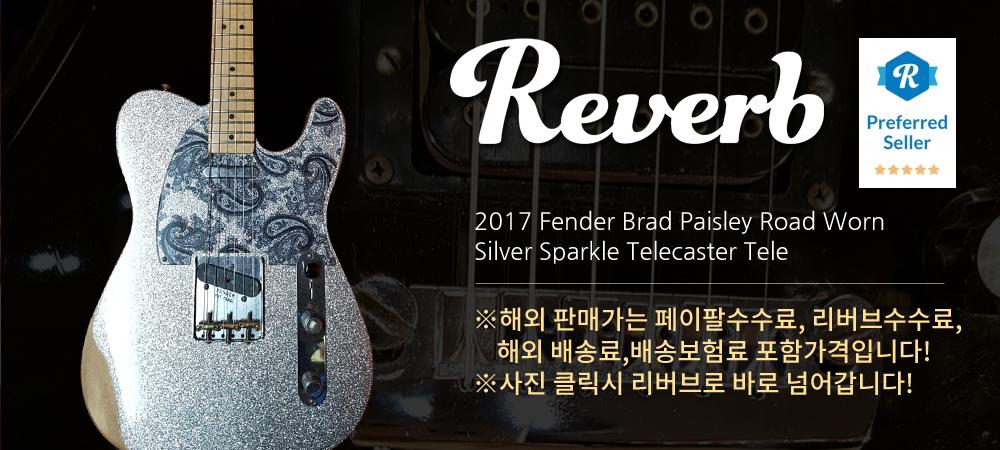 2017 Fender Brad Paisley Road Worn Silver Sparkle Telecaster