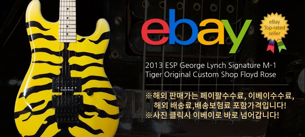 2013 ESP 커스텀샵 조지린치 M-1 Tiger