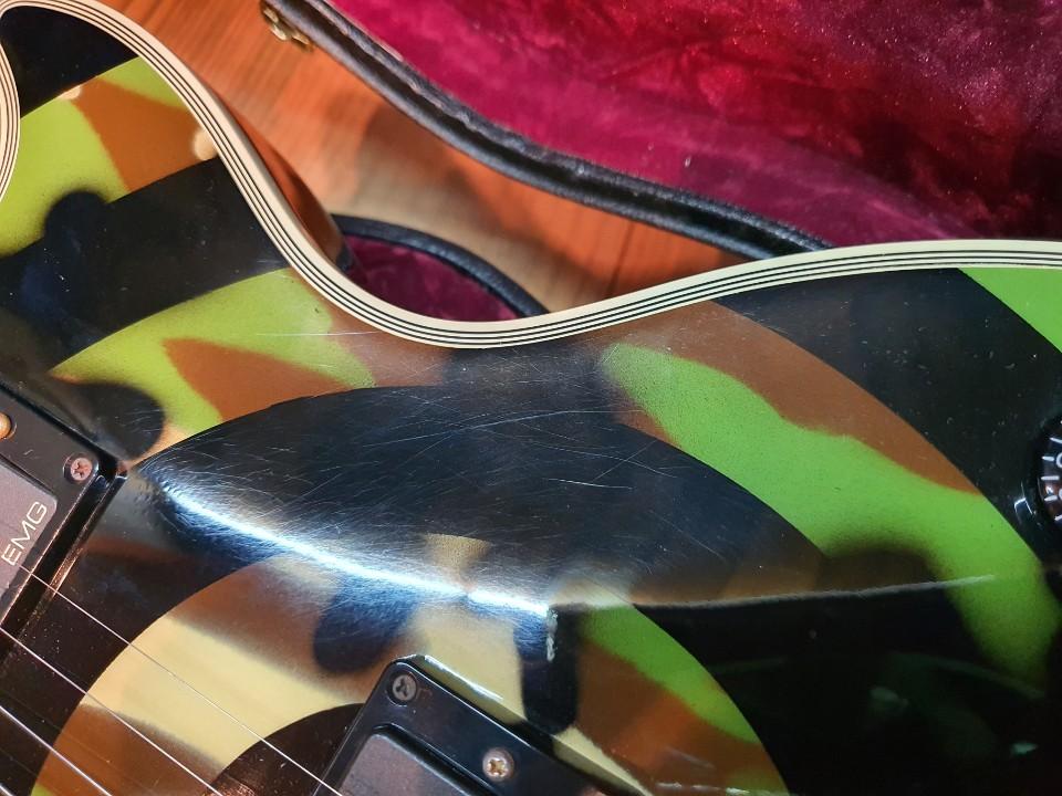 2009 Gibson Les Paul Zakk Wylde Bullseye Camo