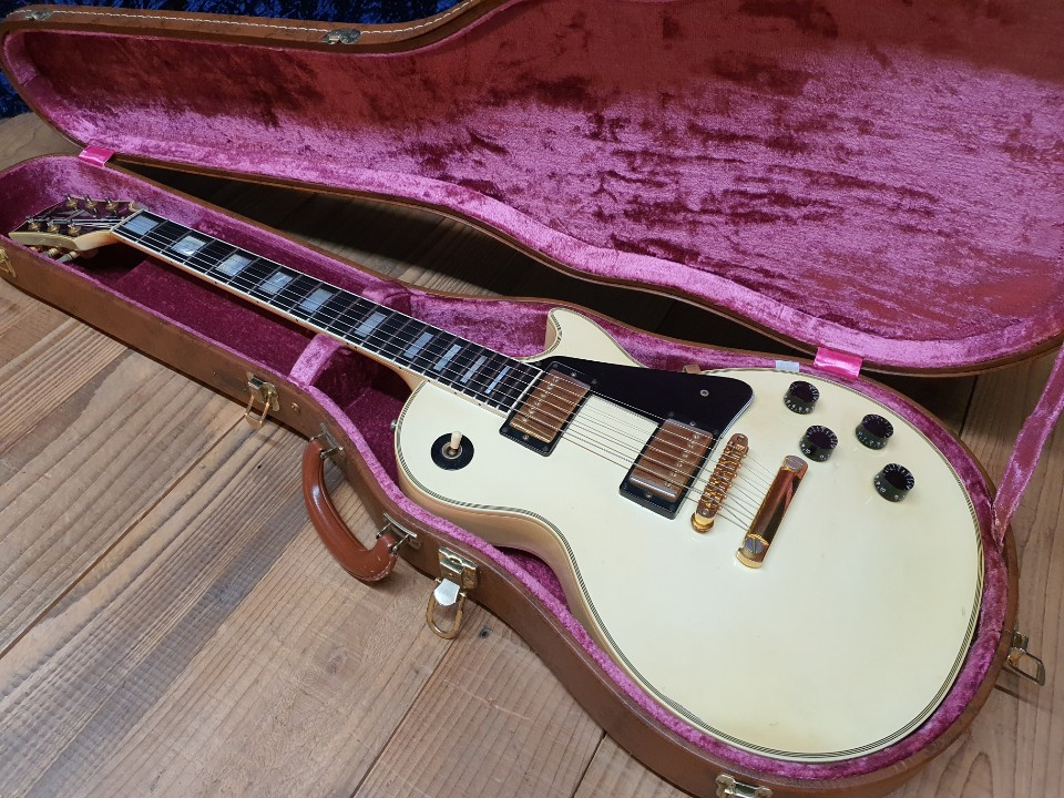 1999 Gibson Les Paul Custom Alpine White