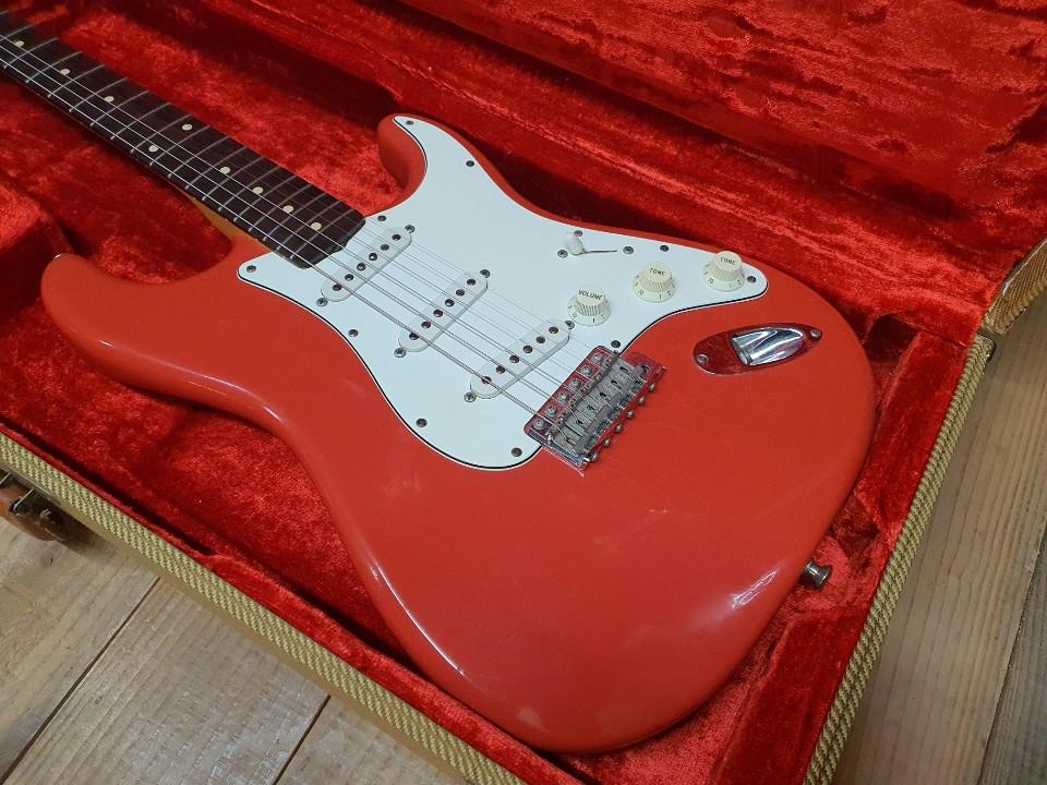 2000 Fender Customshop 60 CC Fiesta Red