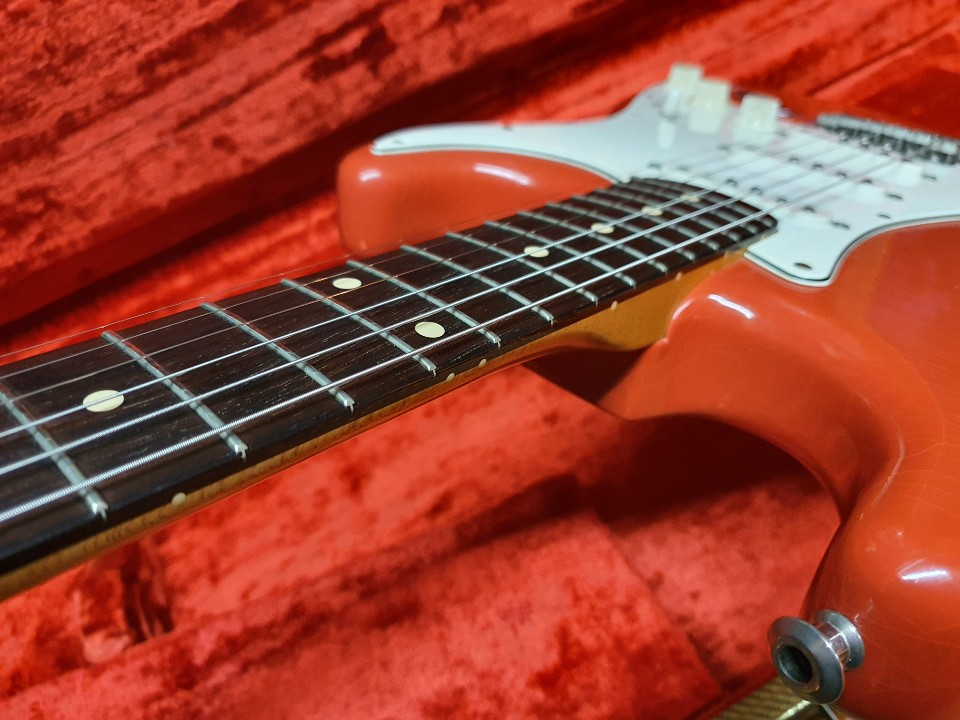 2000 Fender Customshop 60 CC Fiesta Red